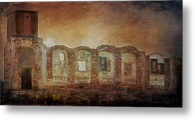 Mayfair Mills Ruins Easley South Carolina Metal Print by Bellesouth Studio