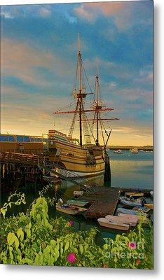 Mayflower II Metal Print by Amazing Jules
