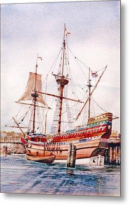 Mayflower II  Metal Print