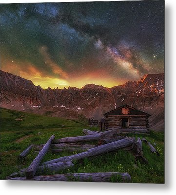 Mayflower Milky Way Metal Print by Darren White