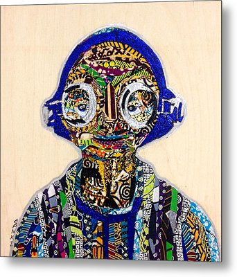 Maz Kanata Star Wars Awakens Afrofuturist Colection Metal Print