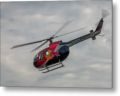 Mbb Bo 105 Metal Print by Robert Krajnc