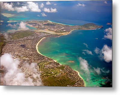Metal Print featuring the photograph Mcbh Aerial View by Dan McManus