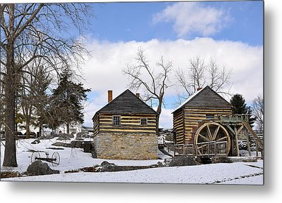 Mccormick Farm 1 Metal Print by Todd Hostetter