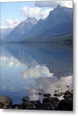 Mcdonald Reflection Metal Print by Marty Koch