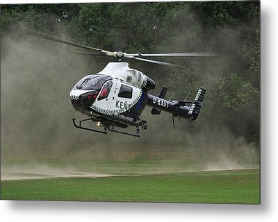 Metal Print featuring the photograph Mcdonnell Douglas Md-902 Explorer  by Tim Beach
