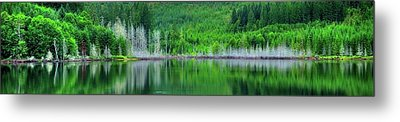 Mcguire Reservoir P Metal Print by Jerry Sodorff