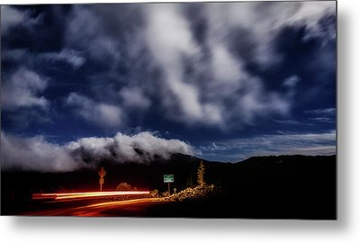 Metal Print featuring the photograph Mckenzie Pass by Cat Connor