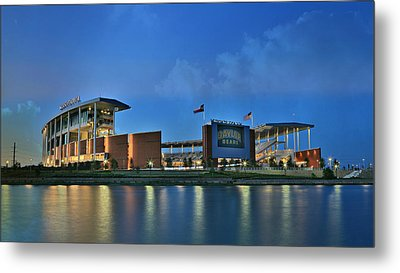 Mclane Stadium -- Baylor University Metal Print