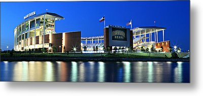 Mclane Stadium Panoramic Metal Print