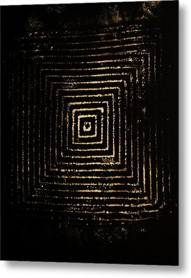 Metal Print featuring the photograph Mcsquared by Cynthia Powell