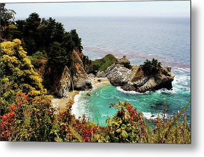 Mcway Falls 2 Metal Print by Judy Vincent