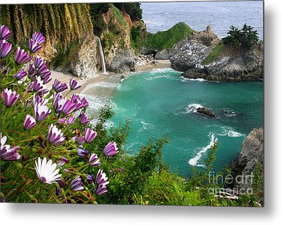 Mcway Falls Metal Print by Buck Forester
