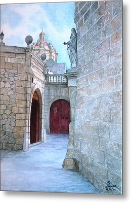 Mdina The Old City Metal Print by Martin Formosa