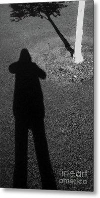 Me And My Shadow Metal Print