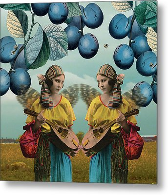 Me And You Metal Print by Olga Snell