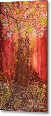 Me Tree Metal Print by Gallery Messina