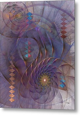 Meandering Acquiescence Metal Print by John Robert Beck
