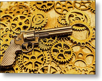 Mechanisms Of The Wild West  Metal Print by Jorgo Photography - Wall Art Gallery