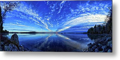 Meddybemps Blues Metal Print by ABeautifulSky Photography