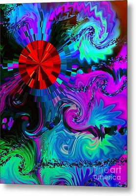 Medicine Dreams Metal Print