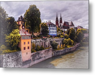 Medieval Basel Switzerland  Metal Print