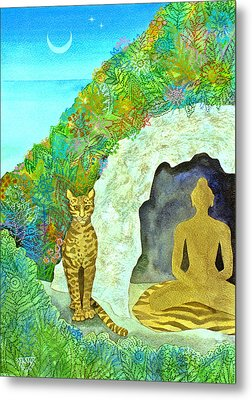 Meditation At Dawn Metal Print by Jennifer Baird
