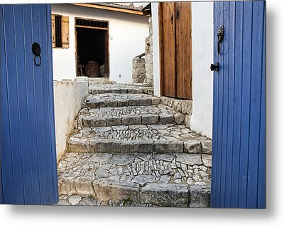 Mediteranean Old House Metal Print