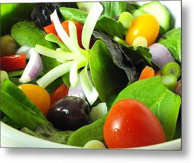 Mediterranean Salad Metal Print