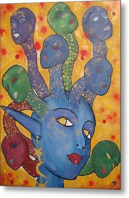 Medusa Metal Print by Diana Chitu