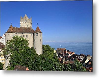 Meersburg Castle - Lake Constance Or Bodensee - Germany Metal Print by Matthias Hauser
