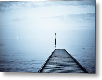 Meet Me On The Other Shore Metal Print by Livia Lazar