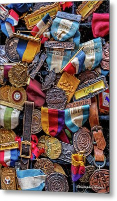 Meet Medals Metal Print by Christopher Holmes