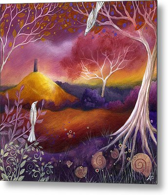 Meeting Place Metal Print by Amanda Clark