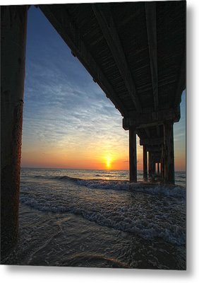 Meeting The Dawn Metal Print