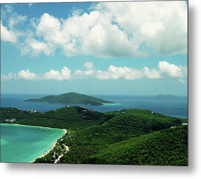 Megan's Bay St. Thomas Metal Print