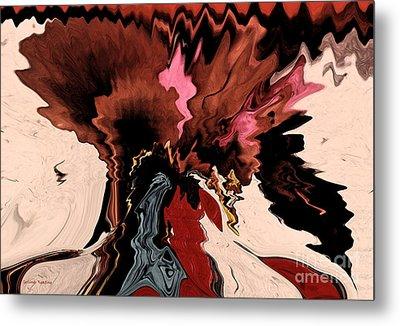 Melange Of Colors  Metal Print by Gerlinde Keating - Galleria GK Keating Associates Inc