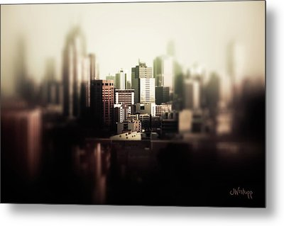 Melbourne Towers Metal Print