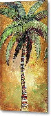 Mellow Palm IIi Metal Print by Kristen Abrahamson