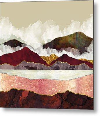 Melon Mountains Metal Print by Katherine Smit