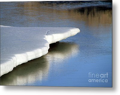 Metal Print featuring the photograph Melt Down by Edward R Wisell