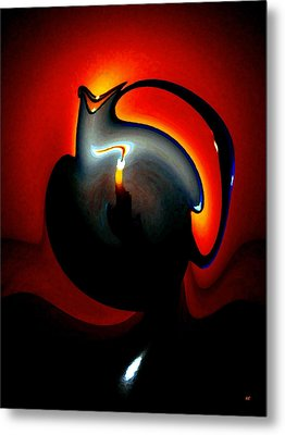 Melting Point Metal Print by Will Borden