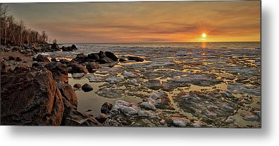 Melting Waters Metal Print