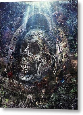 Memento Mori Metal Print by Cameron Gray