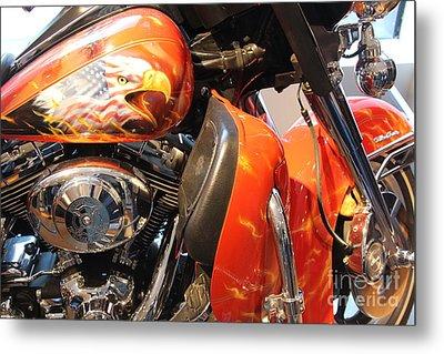 Memorial Bike 9/11   A Metal Print