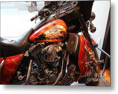 Memorial Bike 9/11 Metal Print