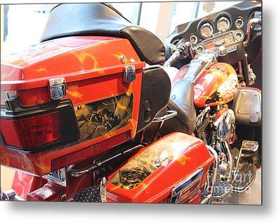 Memorial Bike 9/11 Z Metal Print