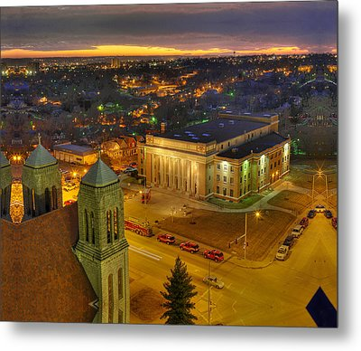 Memorial Hall Metal Print by Don Wolf