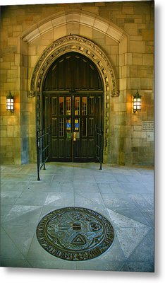 Memorial Hall I Metal Print by Steven Ainsworth