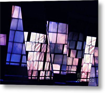 Memorial In The Abstract Metal Print by Sarah Loft